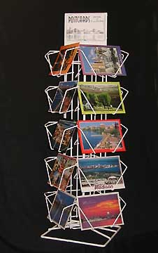 Argonaut postcard racks wire post card racks artcard postcard postcard racks countertop card rack postcard display racks greeting card racks display m4hsunfo