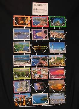 Argonaut postcard racks wire post card racks artcard postcard postcard racks wall mount card rack postcard display racks greeting card racks m4hsunfo